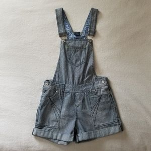 NWOT Faded Glory Striped Overalls